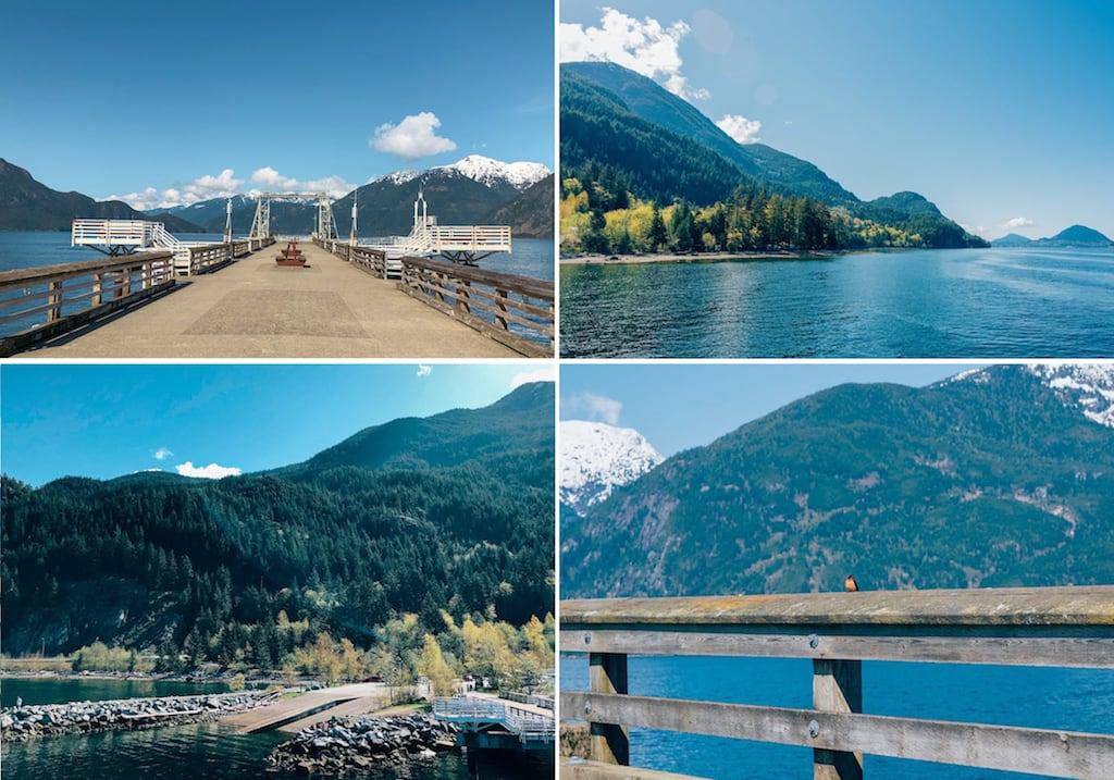 Porteau Cove Provincial Park, no caminho de Vancouver para Squamish. Venha saber mais sobre esse passeio, clique para ler! #Dicasdeviagem #Dicasdepasseio #Vancouver