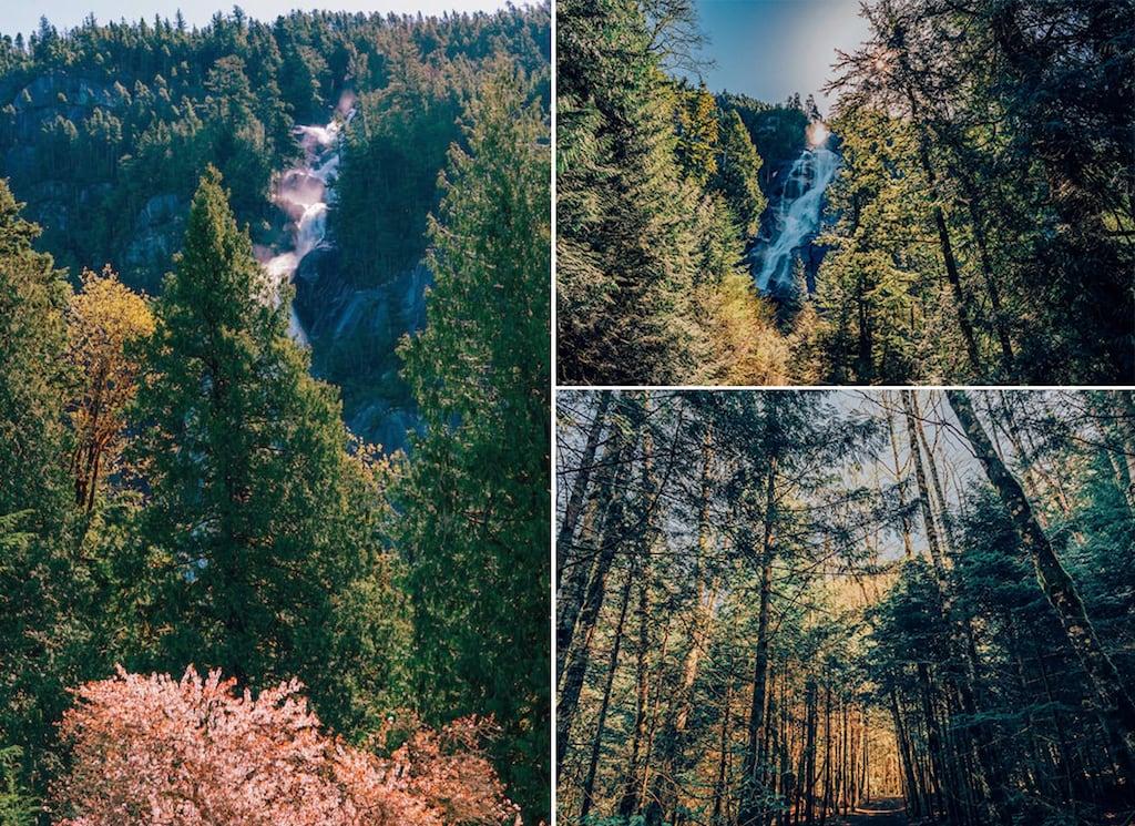 Shannon Falls Provincial Park, nos arredores de Vancouver. Saiba mais sobre esse passeio, clique para ler! #Vancouver #ShannonFalls #Vancouver #SeaToSky