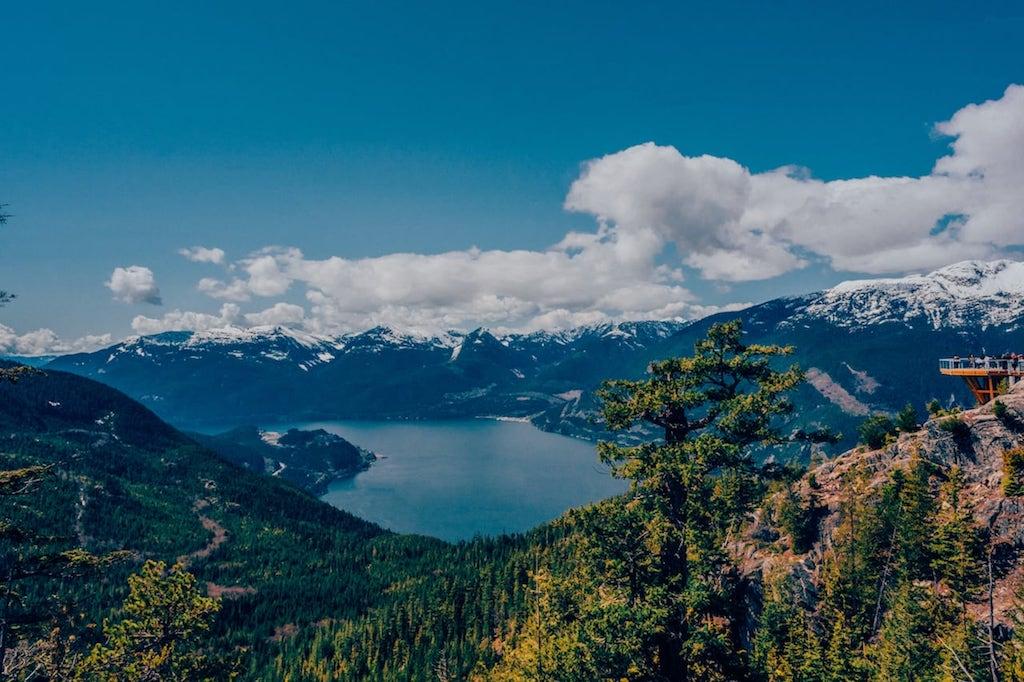 A bela Sea to Sky Gondola! Saiba mais no blog Câmera Passaporte, clique para ler! #Canadá #SeaToSky