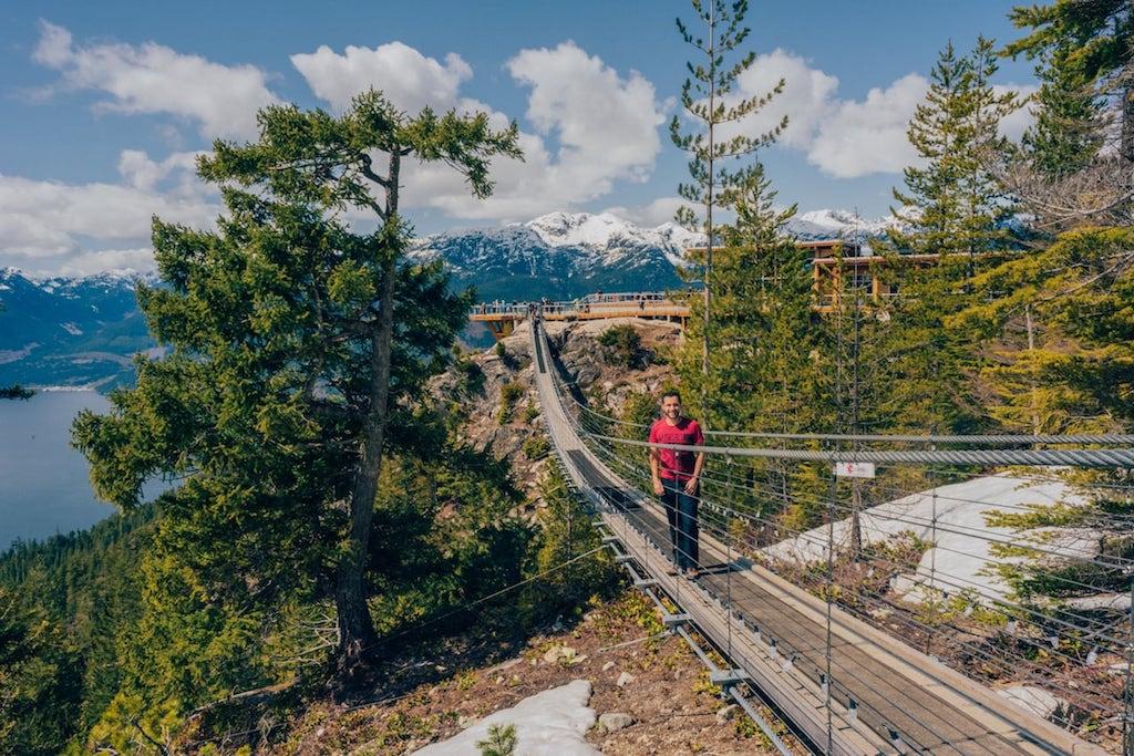 Ponte suspensa na Sea to Sky Gondola! Saiba mais no blog Câmera Passaporte! #Canadá #SeaToSky