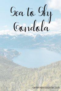 A bela Sea to Sky Gondola! Saiba mais sobre esse passeio imperdível, clique para ler! #Canadá #SeaToSky