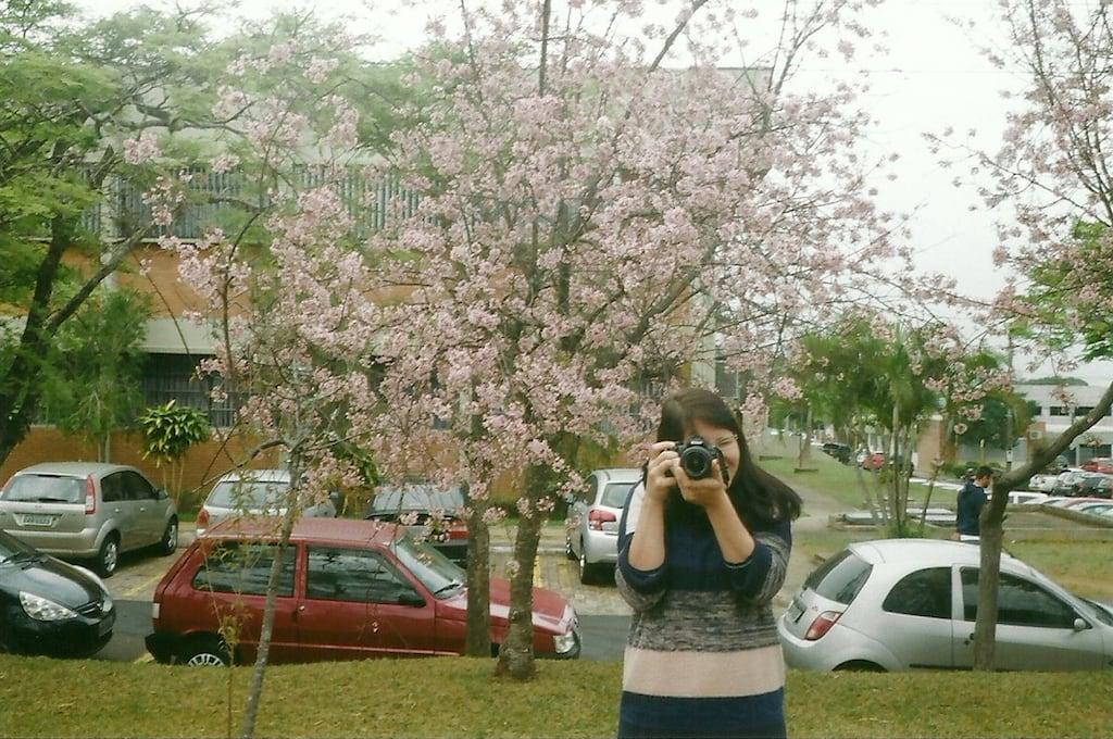 Camila Fotografando