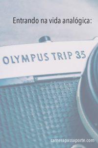 Saiba tudo que precisa para fotografar com a Olympus Trip 35, uma excelente câmera para quem quer entrar na vida analógica e começar a fotografar em filme! #OlympusTrip35