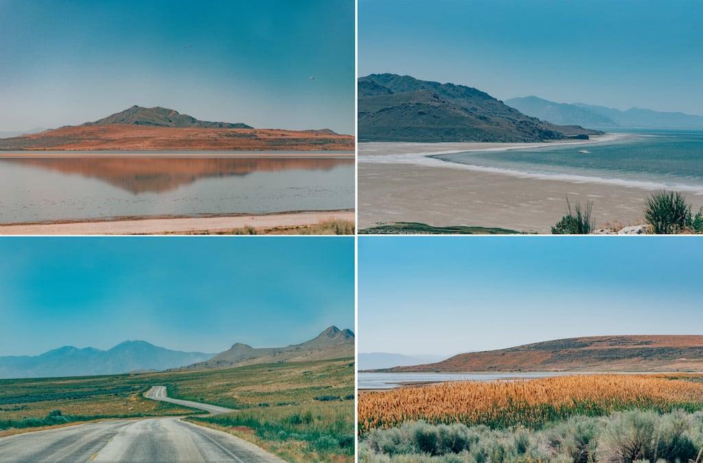 Paisagens da Antelope Island. Conheça essa ilha em Salt Lake City, lugar belíssimo! #SaltLakeCity #AntelopeIsland