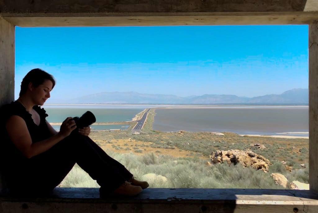 Conheça a Antelope Island ilha em Salt Lake City, lugar belíssimo e cheio de vida selvagem!Clique para ler! #SaltLakeCity #AntelopeIsland