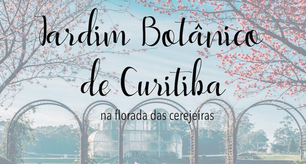 Imagem da famosa estufa do Jardim Botânico de Curitiba