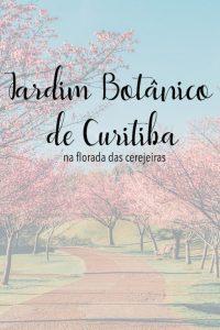 Venha ver como o famoso cartão-postal de Curitiba fica ainda mais belo na florada das cerejeiras!Clique para ler!