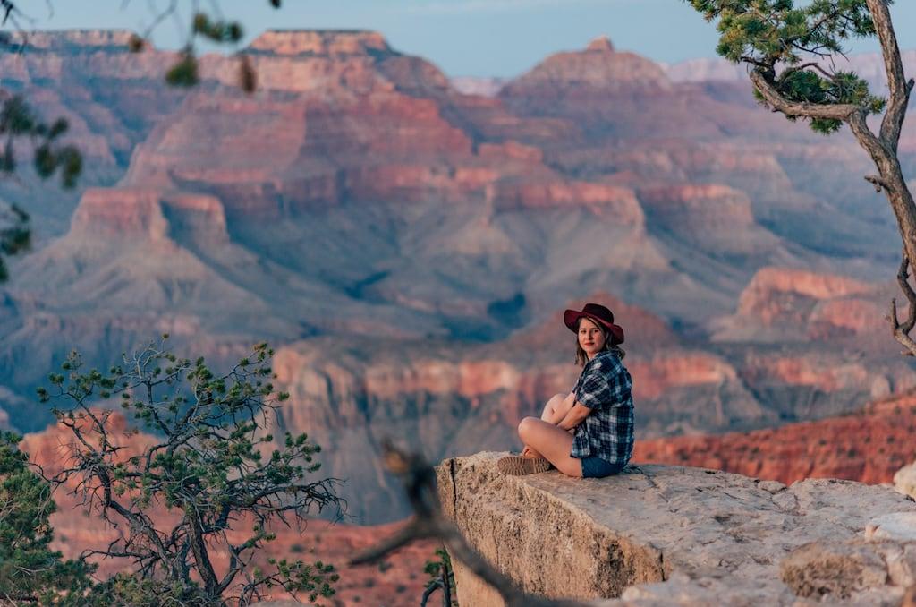 Grand Canyon, parte sul. Veja mais fotos desse lugar incrível. #GrandCanyon #View #landscape #fotografiadeviagem #travelhotography