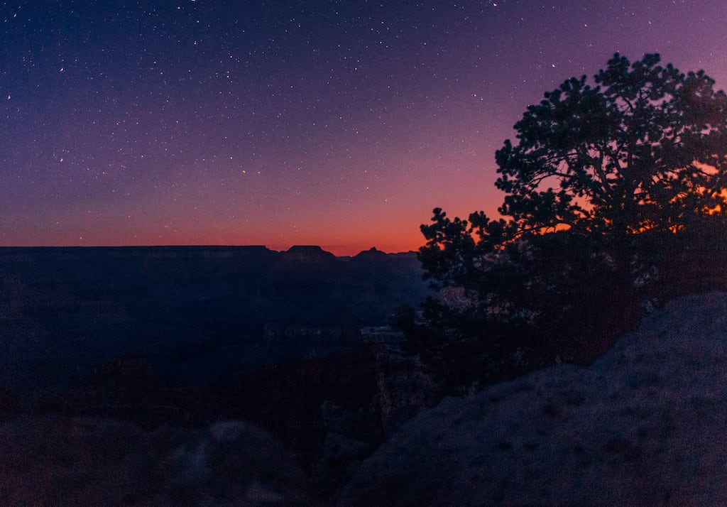 Céu estrelado no Grand Canyon. #stars #astrophotography #GrandCanyon #travelphotography