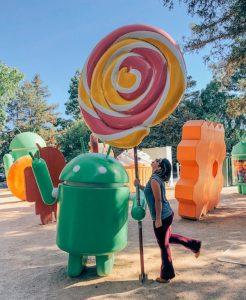 Brincando no Google Campus, post com dicas de passeios próximos a San Francisco #SanFrancisco #GoogleCampus #Android