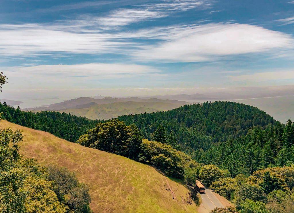 Mount Tamalpais, nos arredores de San Francisco, vale a visita! Saiba mais clicando no link! #SanFrancisco #MountTamalpais #DicasDeViagem