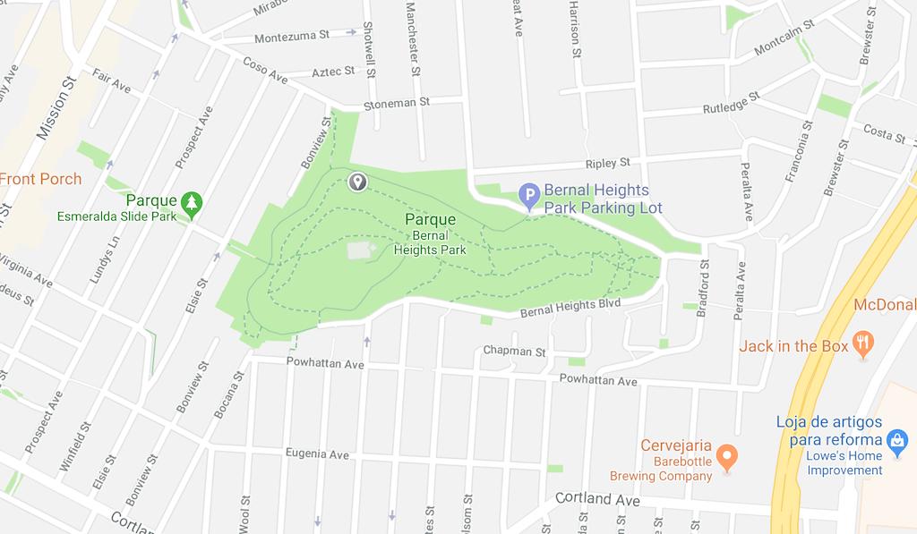 Conheça Bernal Heights em San Francisco, clique para ver fotos!
