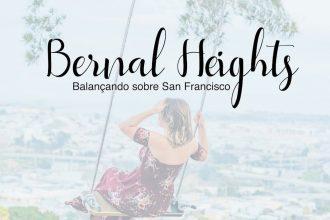 Venha conhecer o parque Bernal Heights em San Francisco, com uma bela vista da cidade! #SanFrancisco #Bernalheights #dicasdepasseio