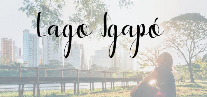 O Lago Igapó, em Londrina, é um ótimo ponto para se visitar e assistir o pôr do sol. Veja mais fotos e leia as dicas no link!