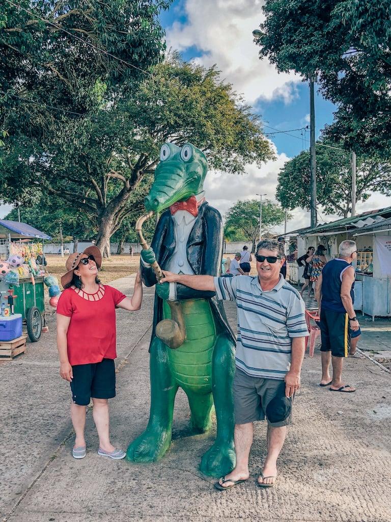 O mascote do espetáculo mais famoso de João Pessoa!Clique para saber tudo sobre esse passeio! #turismo #jampa #dicasdepasseios