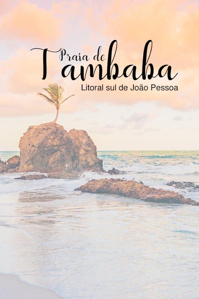 Conheça a praia de Tambaba no litoral sul de João Pessoa!Piscinas naturais, área naturalista e um pequeno coqueiro que cresceu sobre uma rocha fazem do lugar ainda mais incrível! Clique para ler! #jampa #dicasdepasseios