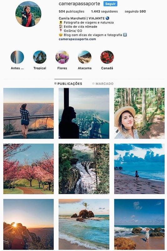 O perfil da @camerapassaporte no instagram! Conheça outras mulheres viajantes com fotos incríveis clicando no link! #quemseguir #indicação