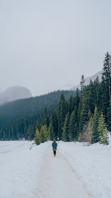 As condições do Lake Louise e outros pontos das montanhas rochosas no mês de abril. Veja o roteiro completo.
