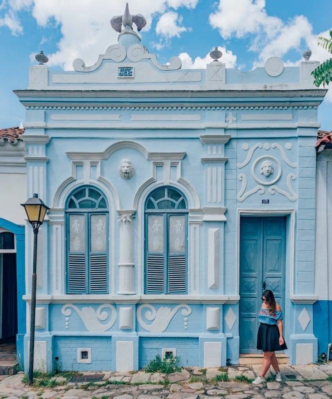 Cores e história nessa passeio! Veja mais fotos e conheça esse destino a 140 km de Goiânia.