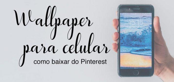 Veja muitas imagens para usar como wallpaper para celular e aprenda a baixá-las do Pinterest! #wallpaper #papeldeparede
