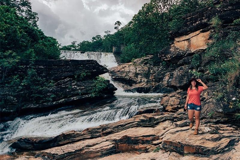 Cachoeira da Usina Velha, com suas belas quedas e pedras!