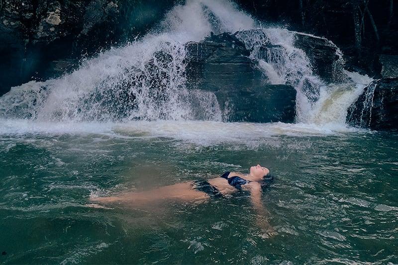 Cachoeira da Usina Velha.