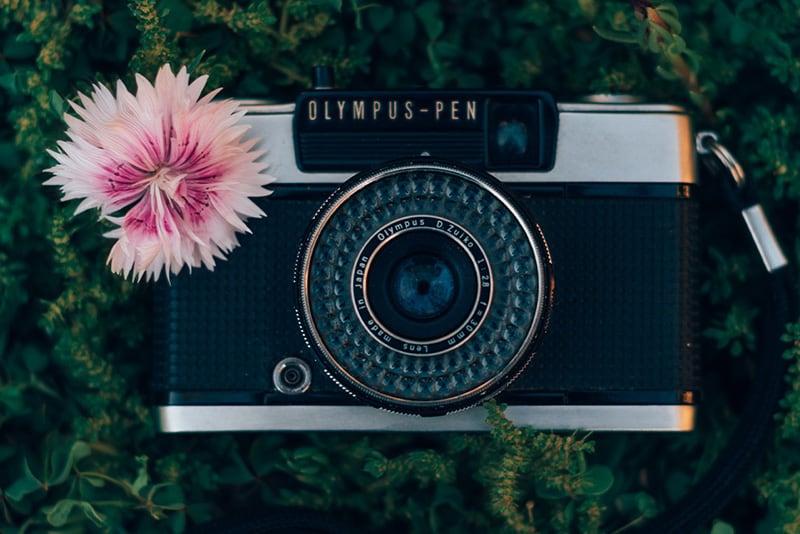 Conheça mais sobre a câmera Olympus Pen, uma irmã da Olympus trip 35 que dobra o número de fotos num filme!