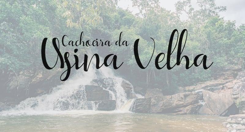 Conheça a bela cachoeira da Usina Velha em Pirenópolis-GO! Cachoeira próxima ao centro histórico e muito acessível!