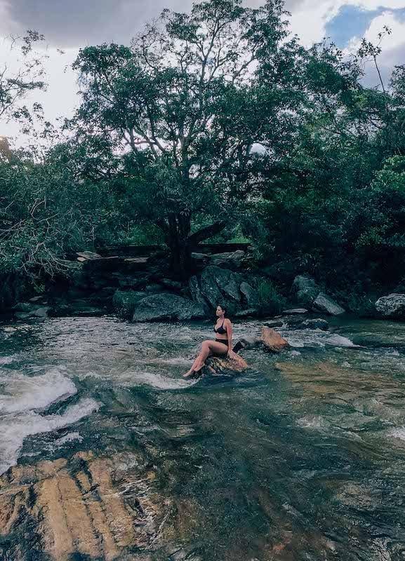 Passeios em Pirenópolis, conheça a Cachoeira da Usina Velha!