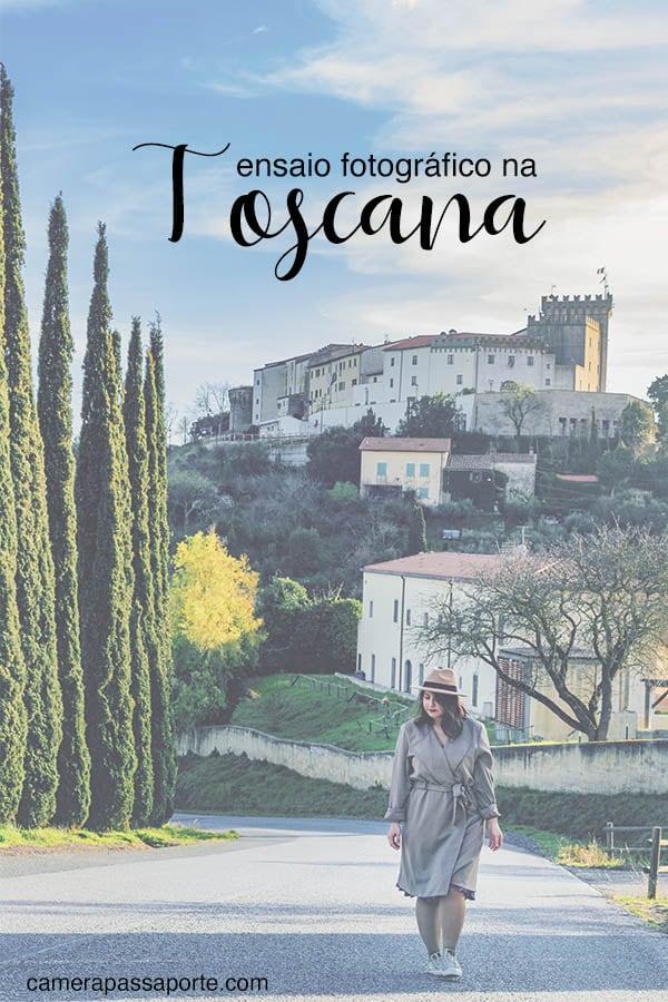 Veja um ensaio fotográfico em uma cidadezinha com paisagens típicas da Toscana!