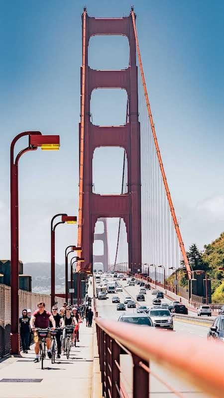 A Famosa Golden Gate Bridge em San Francisco! Veja mais deste passeio, clique para ler.