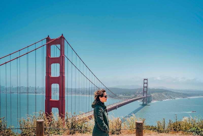 Um dos pontos mais famosos dos Estados Unidos, veja nosso passeio por esse marco! #SanFrancisco