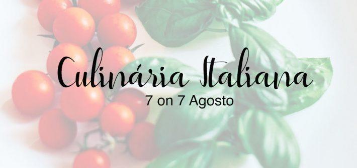 Veja 7 curiosidades sobre a culinária italiana nas fotos do projeto 7 on 7 de agosto! Clique para ler.