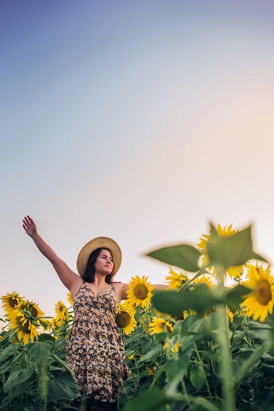 Ensaio fotográfico nas flores!Veja mais no link!