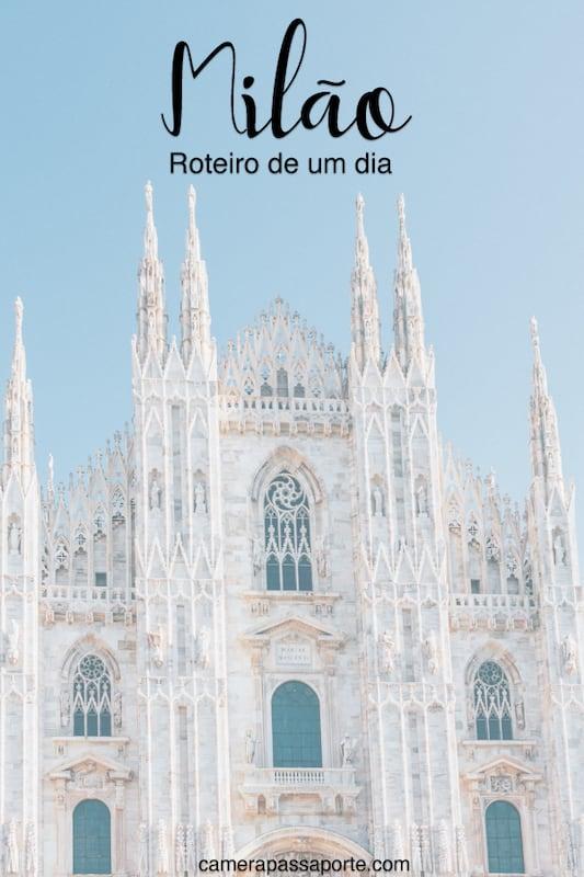 Veja nosso roteiro completo de um dia andando por Milão! Clique para ler.