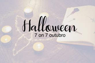 Halloween foi o tema escolhido para nosso projeto fotográfico 7 on 7 no mês de outubro!