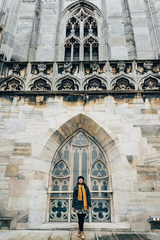 Os terraços fazem parte da visita completa pela bela Catedral de Milão. Saiba Mais no link!
