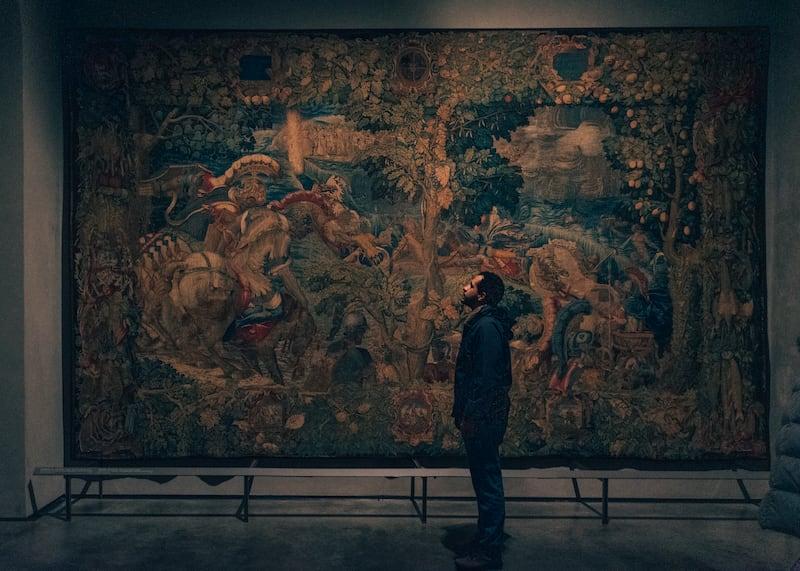 Uma tapeçaria no museu do Duomo. Conheça mais deste local no link!