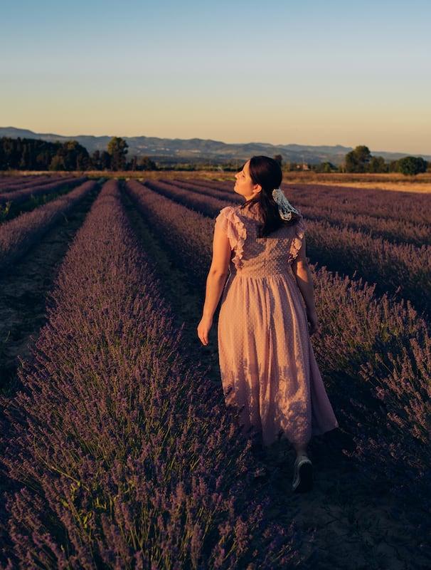 Muitas fotos entre as flores na Toscana!Saiba mais, clique para ler!