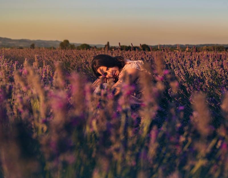 Ensaio fotográfico entre as flores, clique para ver mais imagens!