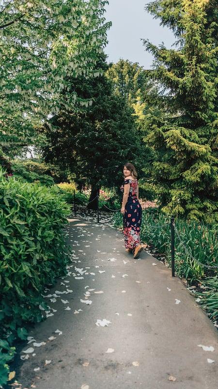 Os jardins do Queen Elizabeth Park em Vancouver. veja meu Top 5 lugares para fotografar na cidade durante a primavera!