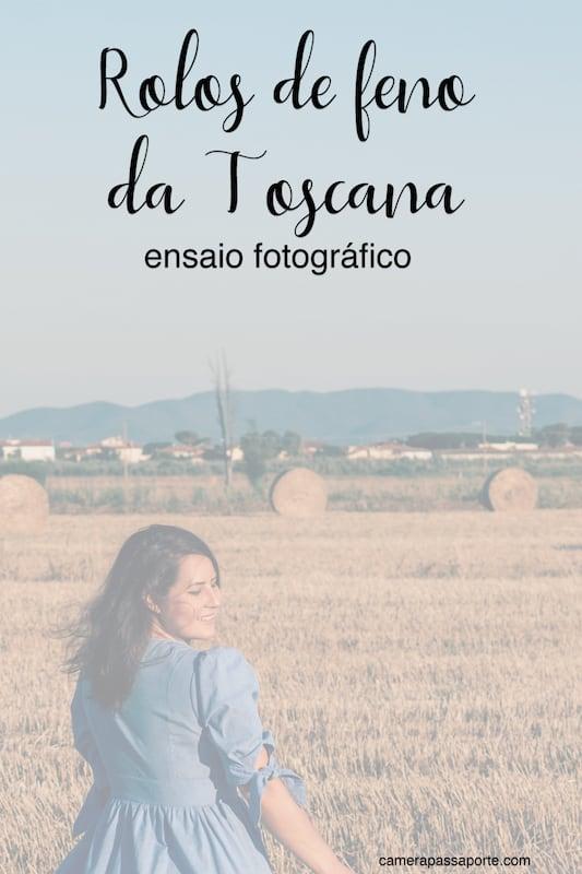 Os rolos de feno da Toscana transformam a paisagem, fazendo a gente se sentir em um filme. Veja as fotos que fizemos neste belo cenário!